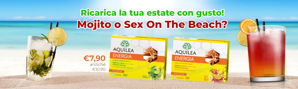 Ricarica la tua estate con gusto! Mojito o Sex On The Beach?