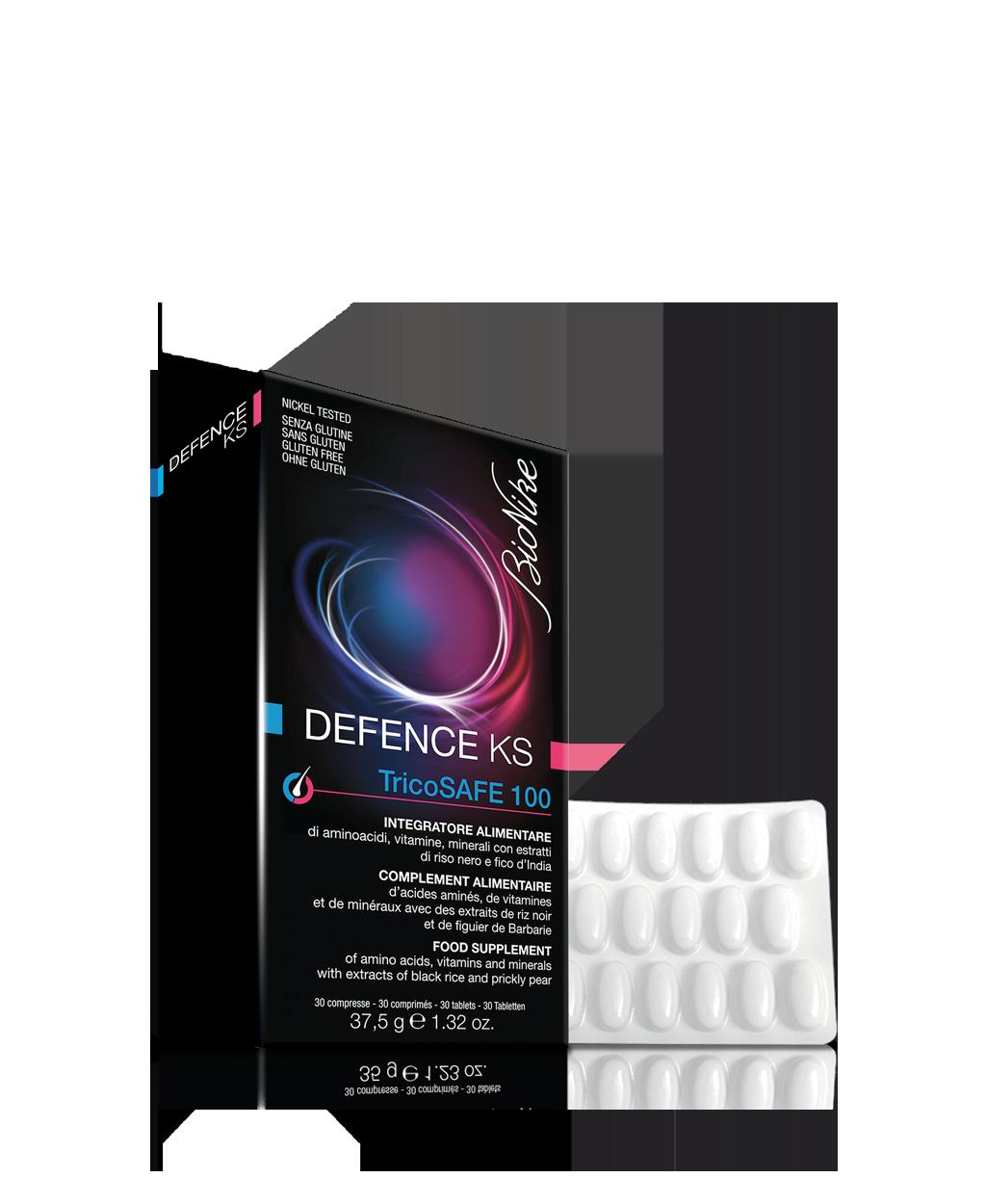 Risultati immagini per defence tricosafe compresse farmacia