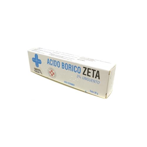 Acido Borico Zeta 3% Unguento