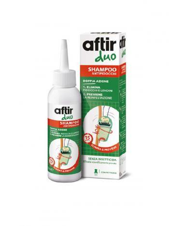 Aftir Duo Shampoo Anti-Pidocchi Doppia Azione