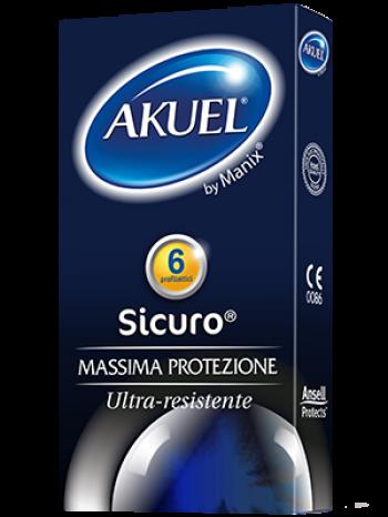 Akuel by Manix Sicuro 6 Profilattici