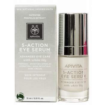 Apivita 5-Action Eye Serum Siero Occhi Azione Avanzata