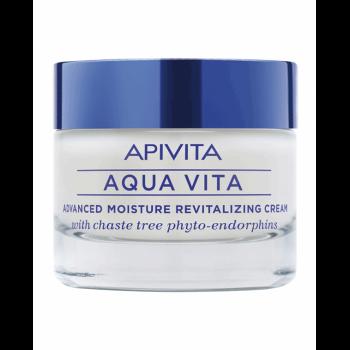 Apivita Aqua Vita Crema Viso Idratante Rivitalizzante Pelli Molt