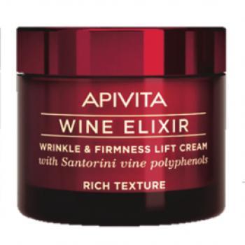 Apivita New Wine Elixir Crema Ricca Rassondante Lifting