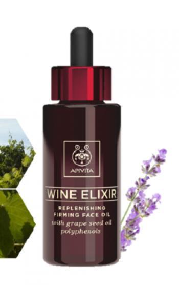 Apivita New Wine Elixir Olio Viso Ricostituente Rigenerante