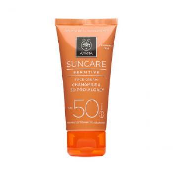 Apivita SunCare Crema Viso Pelli Sensibili SPF50