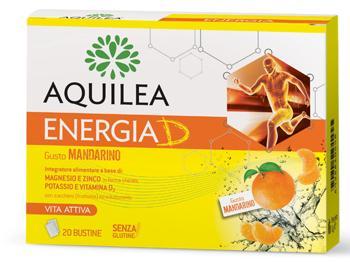 Aquilea Energia D Bustine Gusto Mandarino