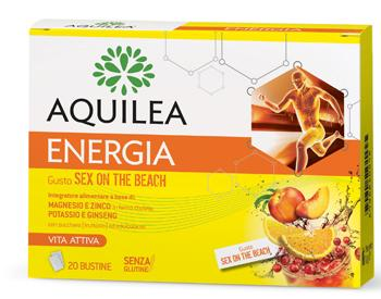 Aquilea Energia Integratore Gusto Sex On The Beach Bustine
