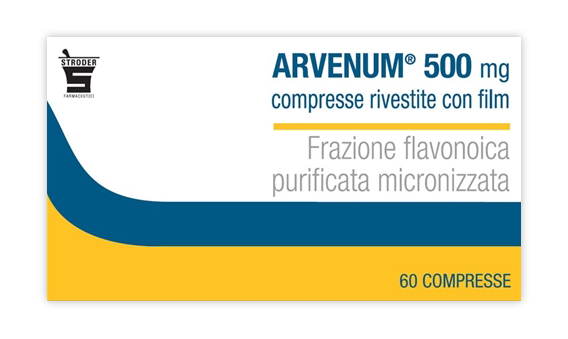 Arvenum 500 mg 60 Compresse Rivestite