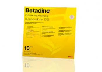 Betadine Garze Impregante 10x10cm
