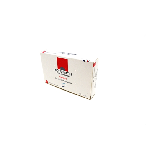 Biodermatin 5mg Compresse