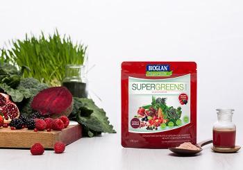 Bioglan Superfoods Supergreens Frutti Rossi Polvere Concentrata