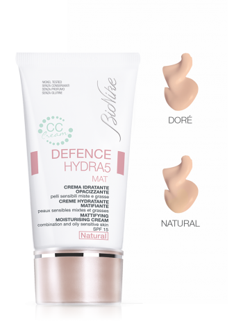 BioNike Defence Hydra5 Mat CC Cream Crema Idratante Opacizzante