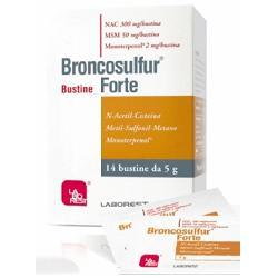 Broncosulfur Forte Sedativo Mucolitico Tosse Bustine