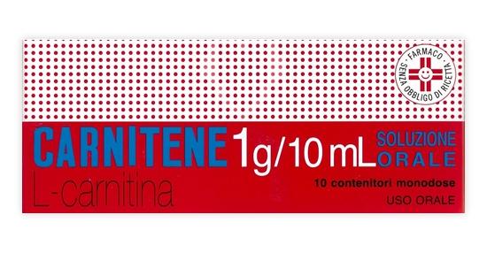 Carnitene 1g-10ml Soluzione Orale Flaconcini