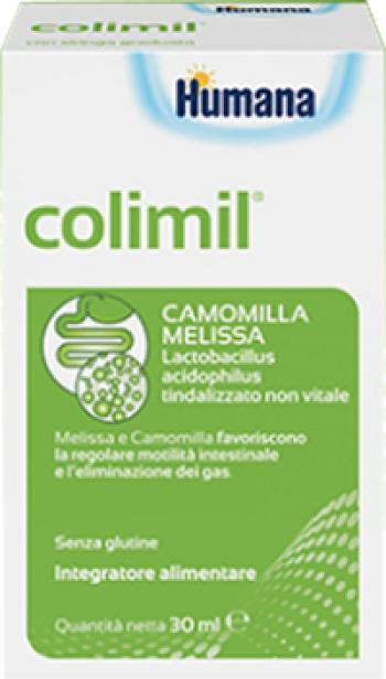 ColiMil Humana Gocce Integratore Motilità Intestinale e Gas