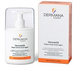 Dermana Clean Dermanoil Olio Detergente Pelle Sensibile