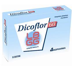 Dicoflor 60 Integratore di Probiotici 15 Bustine