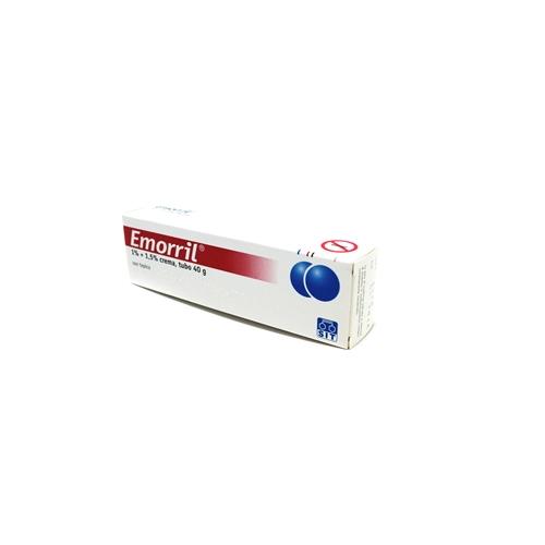 Emmoril 1%+1,5% Crema Rettale