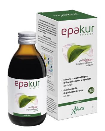 Epakur Advanced Sciroppo Depurativo Fegato