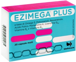 Ezimega Plus Integratore Funzionalità Cardiaca Capsule Molli