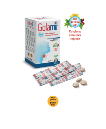 Golamir 2-ACT Compresse Orosolubili Antinfiammatorie