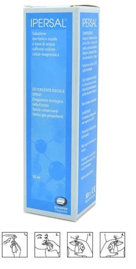 Ipersal Soluzione Ipertonica Spray Nasale