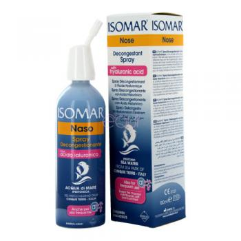 Isomar Naso Spray Decongestionante con Acido Ialuronico