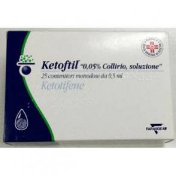 Ketoftil 0,05% Collirio Monodose