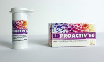 Ld Proactiv 50 Fermenti Lattivi Probiotici Compresse Masticabili
