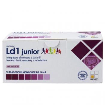 Ld1 Junior Flaconcini Fermenti Lattici Lactoferrina Cranberry