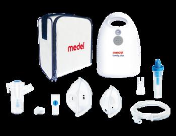 Medel Family Plus Apparecchio per Aerosol con Doccia Nasale