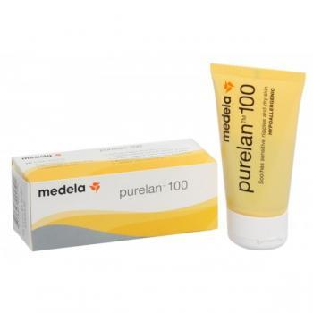 Medela Purelan 100 Crema di Lanolina Purissima per Capezzoli 37g