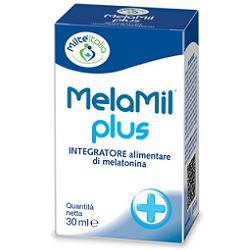 MelaMil Plus Gocce Integratore di Melatonina, B6 e Triptofano