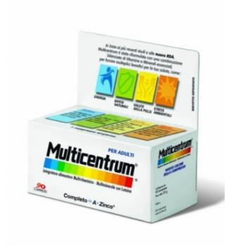 Multicentrum Adulti Integratore Vitamine e Minerali 90 Compresse