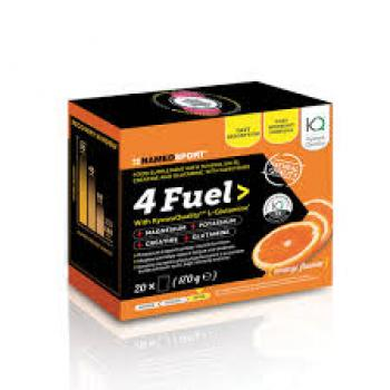 NAMED SPORT 4Fuel Buste Integratore Sali, Creatina, Glutammina