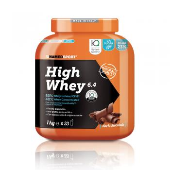 NAMED SPORT High Whey 6.4 Dark Chocolate Polvere