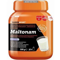 NAMED SPORT Maltonam Integratore Maltodestrine con L-Carnitina