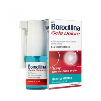 NeoBorocillina Gola Dolore Spray Gusto Menta
