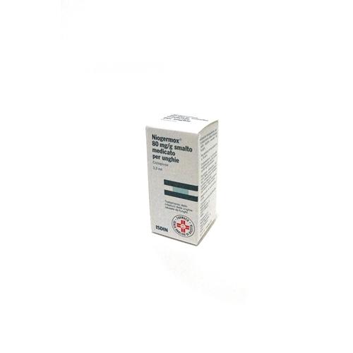 Niogermox 80mg-g Smalto Medicato per Unghie