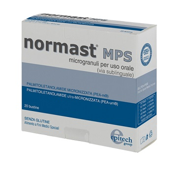 Normast MPS Integratore Bustine Sublinguali
