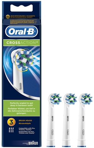 Oral-B 3 Testine Sostitutive Cross Action