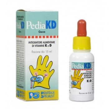 Pedia KD Plus Gocce Integratore Vitamine D3 2-14 settimane