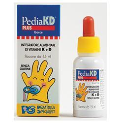 Pedia KD Plus Gocce Integratore Vitamine D3 e 2-14 settimane