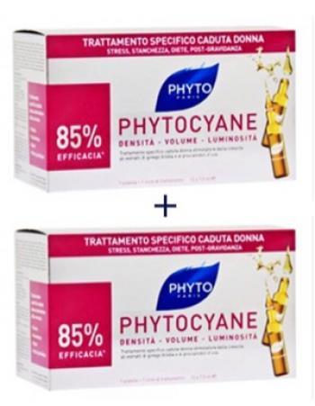 Phytocyane DUO Fiale Anti-Caduta Donna