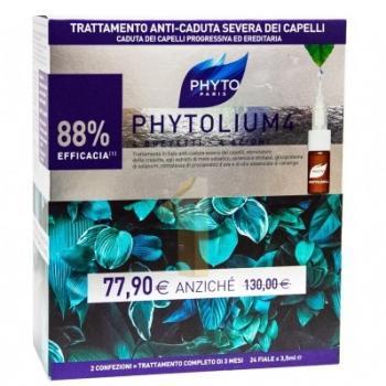 Phytolium 4 Fiale Anti-Caduta Uomo 6 Fiale Omaggio