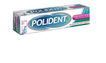 Polident Lunga Tenuta e Durata Pasta Adesiva per Protesi Dentari