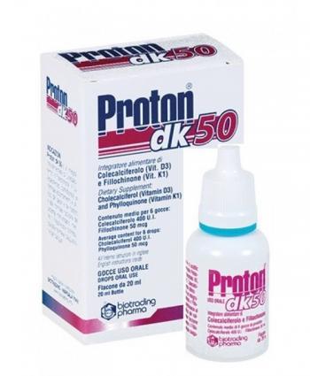 Proton DK 50 Integratore Vitamina D3 e K Gocce