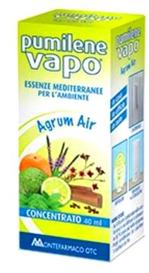 Pumilene Vapo Agrum Air Concentrato di Essenze per l'Ambiente