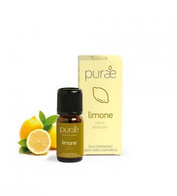 Purae Olio Essenziale di Limone Puro